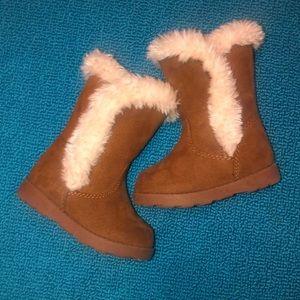 Cat & Jack size 4 chestnut Katrina style tot boots